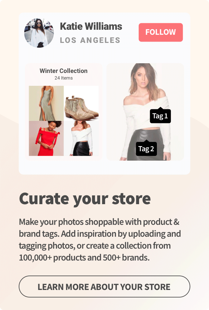 Create your shoppable feed